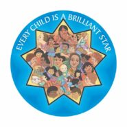 Every Child is a Brilliant Star Button