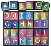 Fun & Colorful ABCs of Virtues Refrigerator Magnets