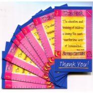 Teacher Appreciation Wallet Cards