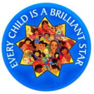 Every Child Brilliant Star Magnet