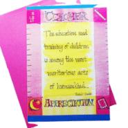 Teacher Appreciation Note Card