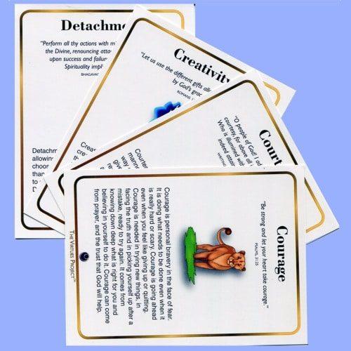 Interfaith Family Virtue Cards