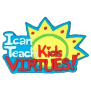 I Can Teach Kids Virtues Pin