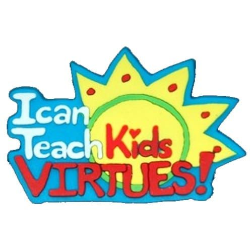 I Can Teach Kids Virtues Pin