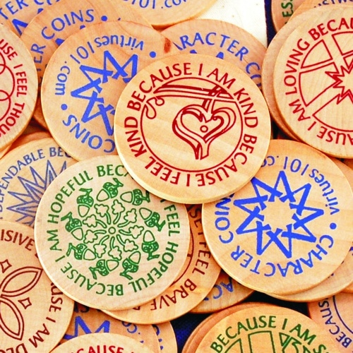 character coins