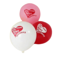 No Room in my heart for Prejudice Balloons