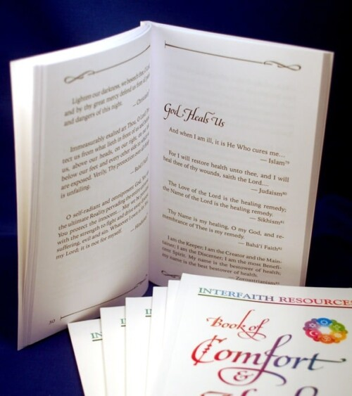 Gift Edition – Interfaith Resources Book of Comfort and Healing Book