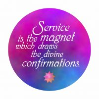 Service is the Magnet Button
