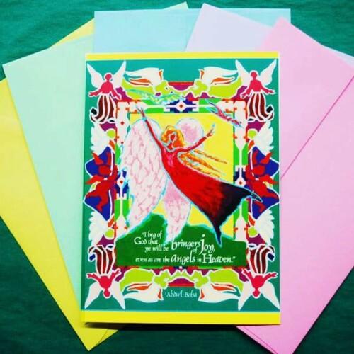 Angel of Joy Note Card