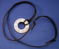 Abdul-Bahai Memory Medallion Necklace