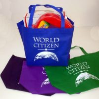 World Citizen Wide-Top Tote Bag