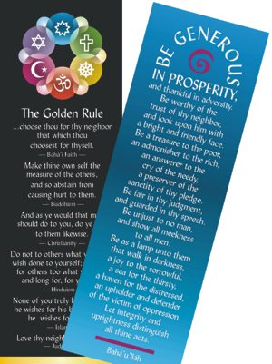 Golden Rule Bookmarks