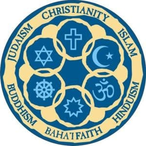 Circle of Religions Button