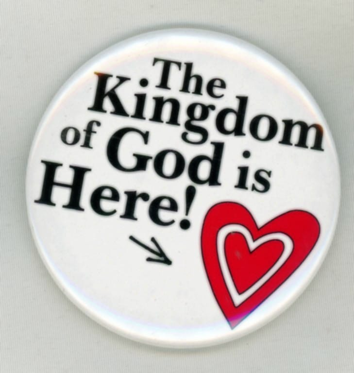 The Kingdom of God is Here Magnet