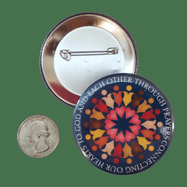 Connecting Our Hearts through Prayer Button