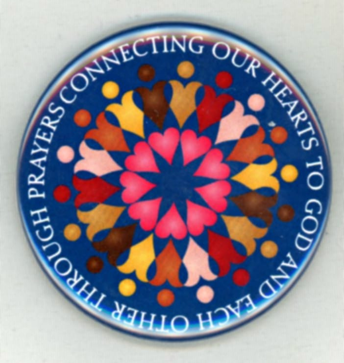 Connecting Our Hearts through Prayer Button