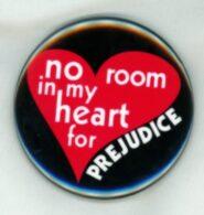 no room in my heart for prejudice magnet