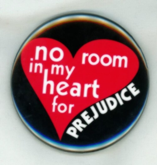 no room in my heart for prejudice magnet