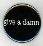 Give a Damn Magnet