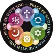 peace be with you magnet