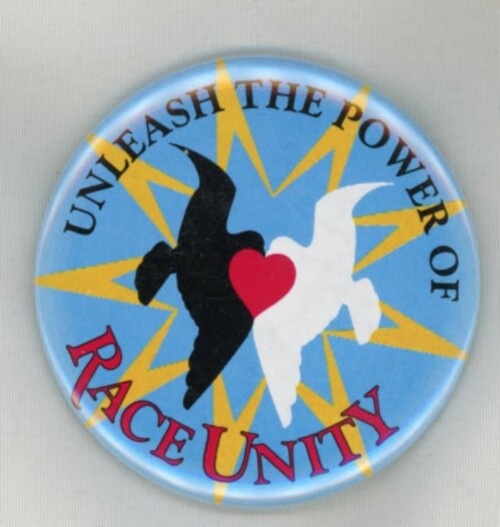 Unleash the power of race unity Magnet