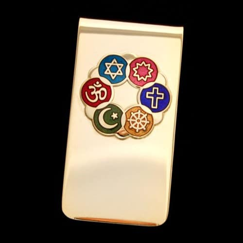 Interfaith Money Clip