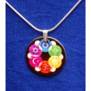 Small Mother of Pearl Interfaith Pendant
