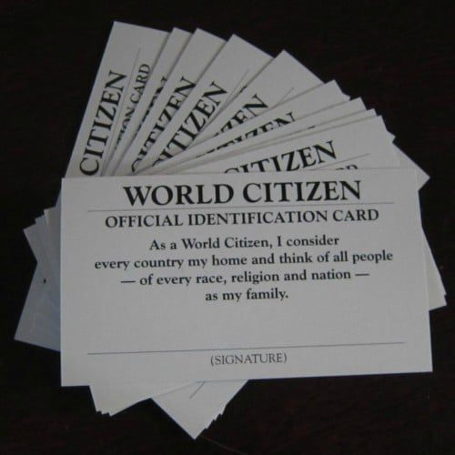 World Citizen ID Cards
