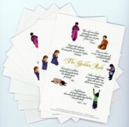 Praying Children Golden Rule Postcards
