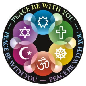 Peace be with you Button