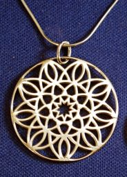 Sterling Silver Mandala Pendant