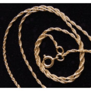 Gold Plated 20″ Rope Chain