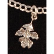 Leaves of One Tree Oak Leaf Pendant