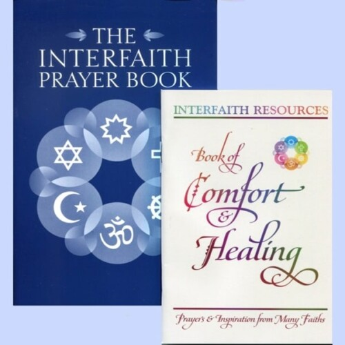 Interfaith Prayer Book / Comfort & Healing Set