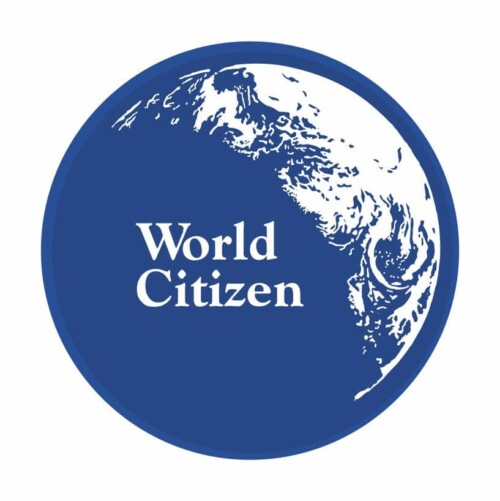 World Citizen Button (2-1/4″)