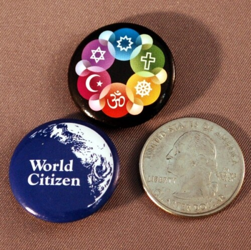 50¢ Mini Interfaith Button
