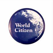 50¢ Mini World Citizen Button