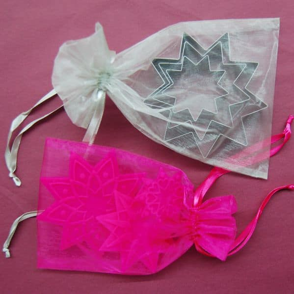 Star Cookie Cutter Set with Stamps