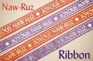 Joyous Naw-Ruz Ribbon