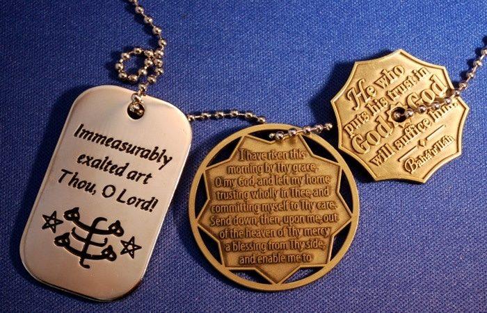 Traveler's Prayer Coins