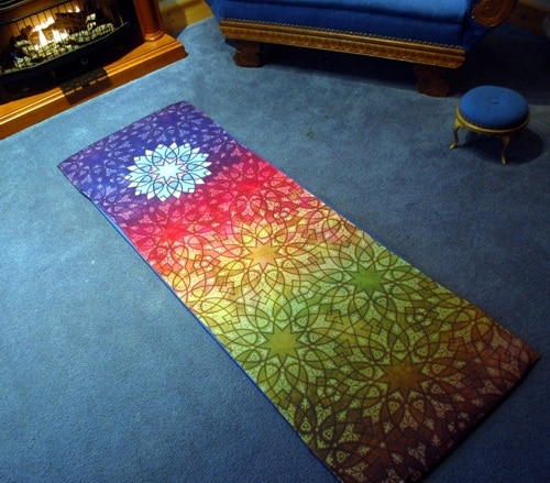 Prayer Mat Cover by Joe Paczkowski