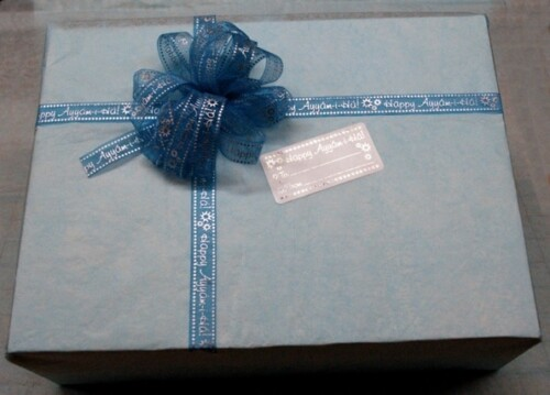 Happy Ayyam-i-Ha Gift Tag Sticker