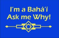 I'm a Baha'i Ask Me Why T-shirt