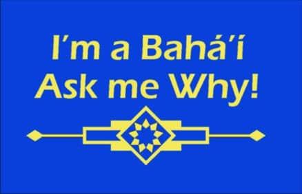 I'm a Baha'i Ask Me Why T-shirt