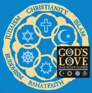 God's Love (Front with Circle on Back) T-shirt
