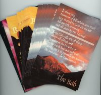 Set of 4 Anna Prayer Postcards