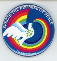 Bahai Spread the Promise of Peace Magnet