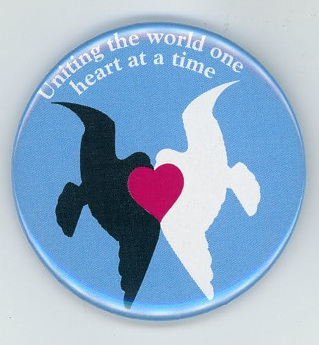 United Doves Interfaith Button