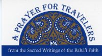 Prayer for Travelers
