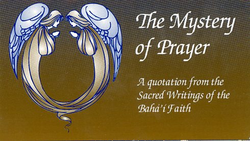 Mystery of Prayer – card